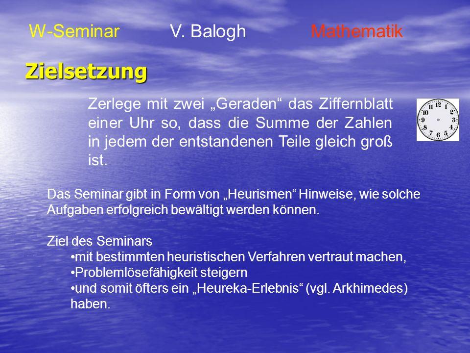 Seminararbeit W-Seminar V.
