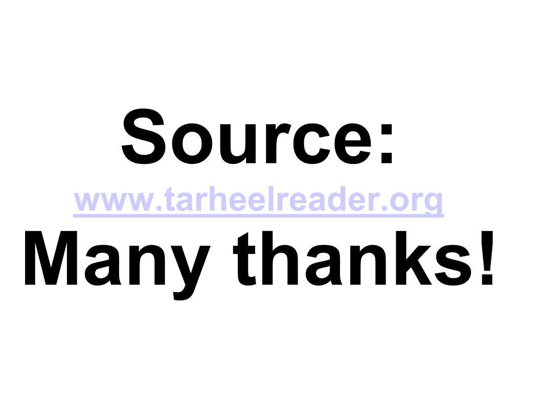 Source: www.tarheelreader.org Many thanks! www.tarheelreader.org