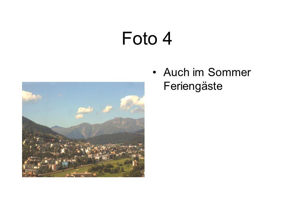 Foto 4 Auch im Sommer Feriengäste
