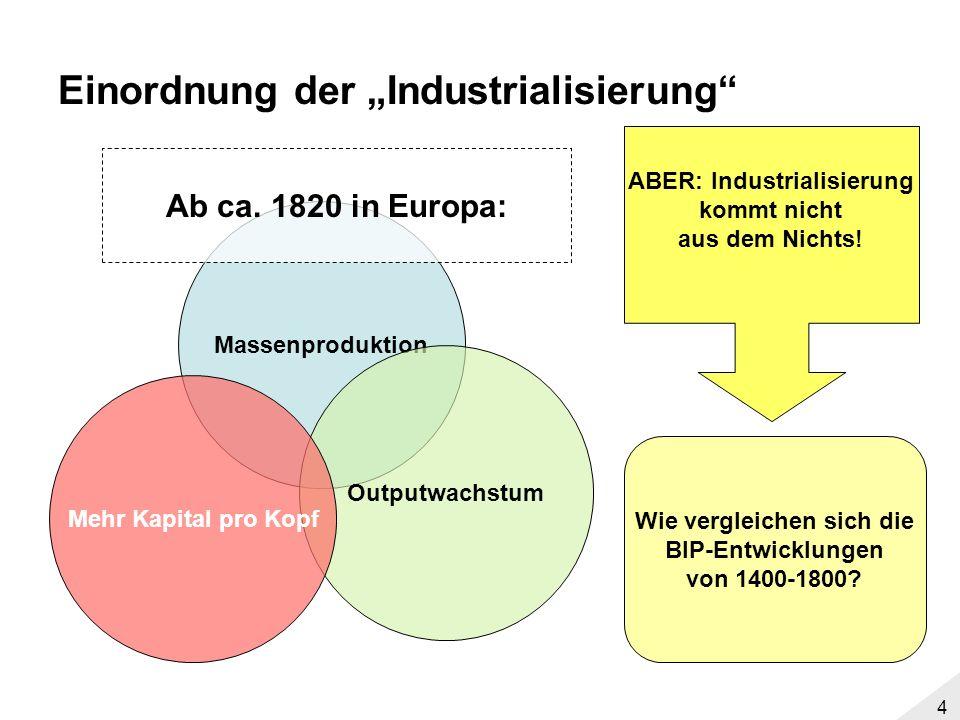 3 Jones These: Geringere Katastrophentendenz in Europa als in Asien Industrialisierung geht von Europa aus Was ist Katastrophentendenz Was ist Industrialisierung?