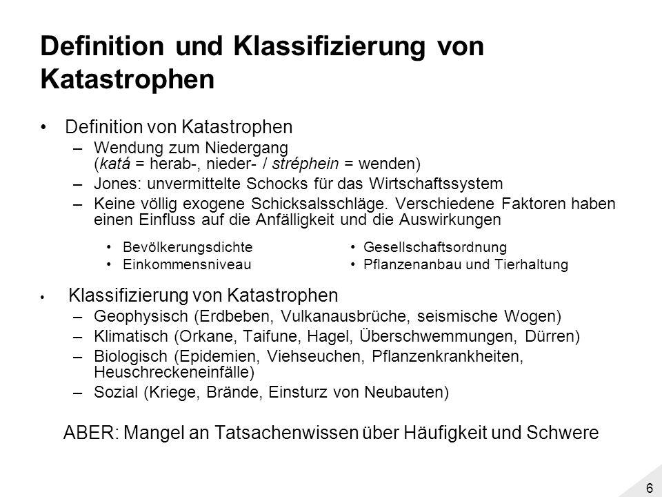 5 Einordnung der Industrialisierung Quelle: http://www.ggdc.net/maddison/Historical_Statistics/horizontal-file_10-2006.xls