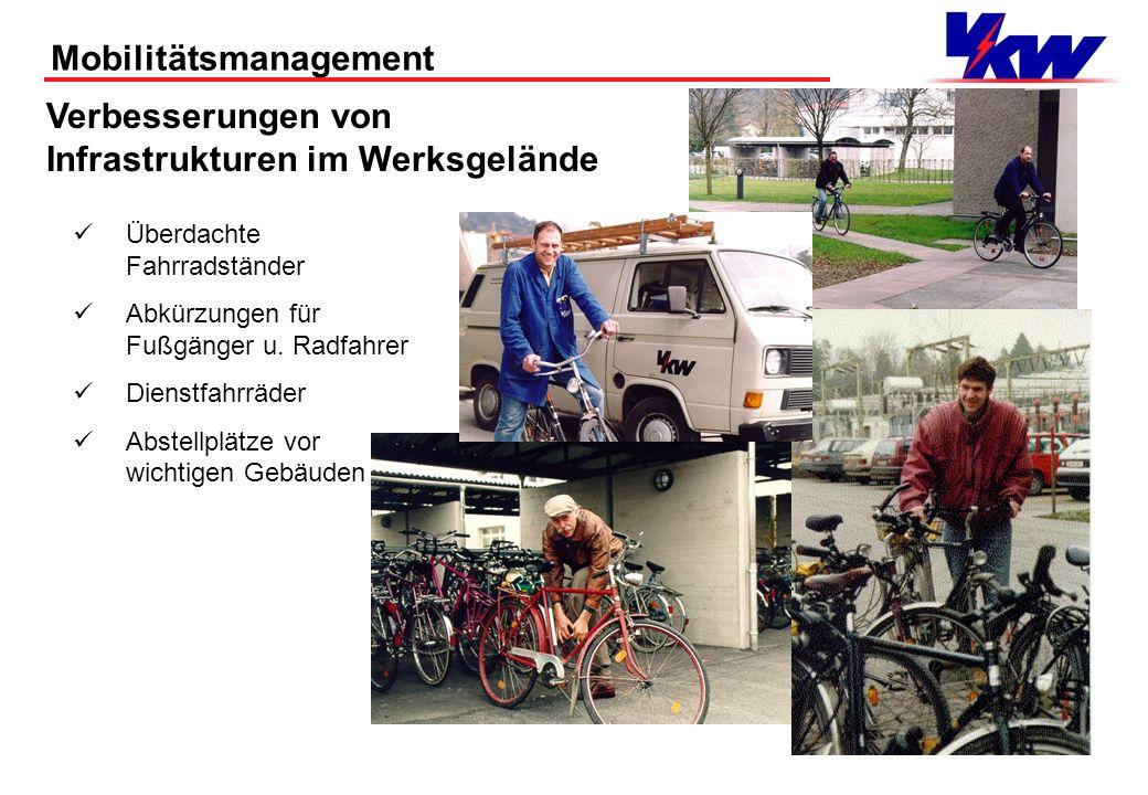 Mobilitätsmanagement Ein erfolgreiches Beispiel, wenn sich ein Betrieb für Infrastrukturverbesserungen stark macht!