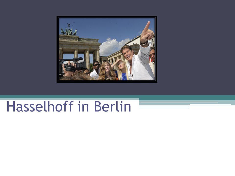 Hasselhoff in Berlin