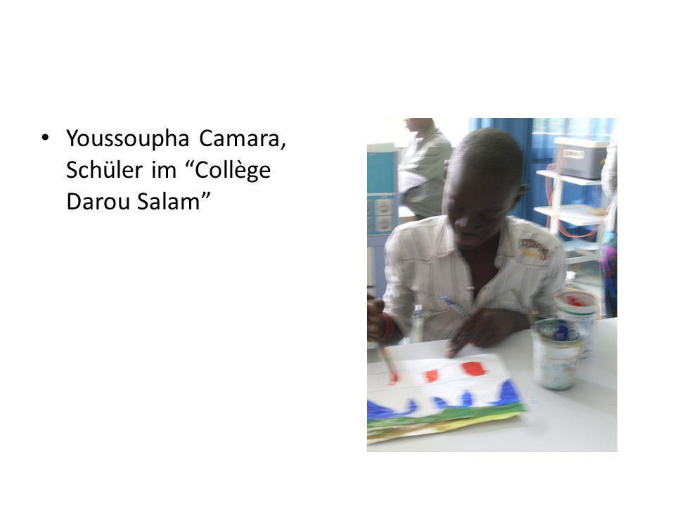 Ich bin Ibrahima, bin 17 Jahre alt und ich bin Schüler in der elften Klasse.