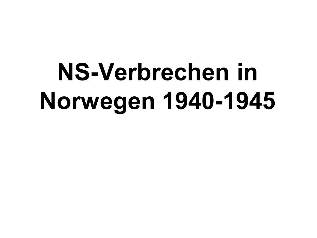 NS-Verbrechen in Norwegen 1940-1945