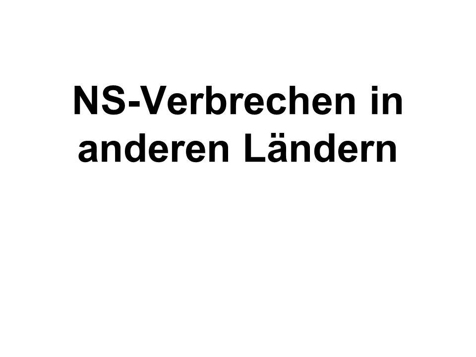 Vom NS-Staat überfallene Länder Österreich (12.