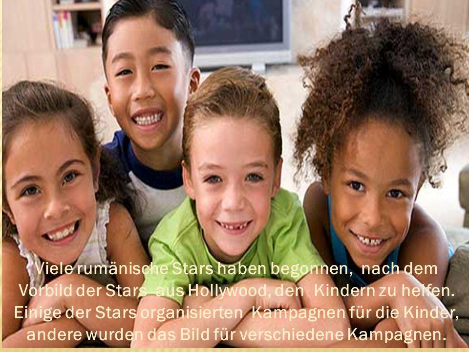 Andreea Marin ist Executive Manager für UNICEF und Initiator vieler Hilfskampagnen, wie z.