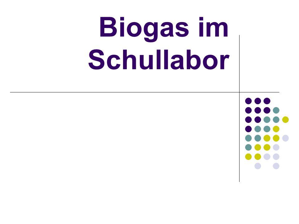 Inhaltsverzeichnis Ist Biogas giftig.