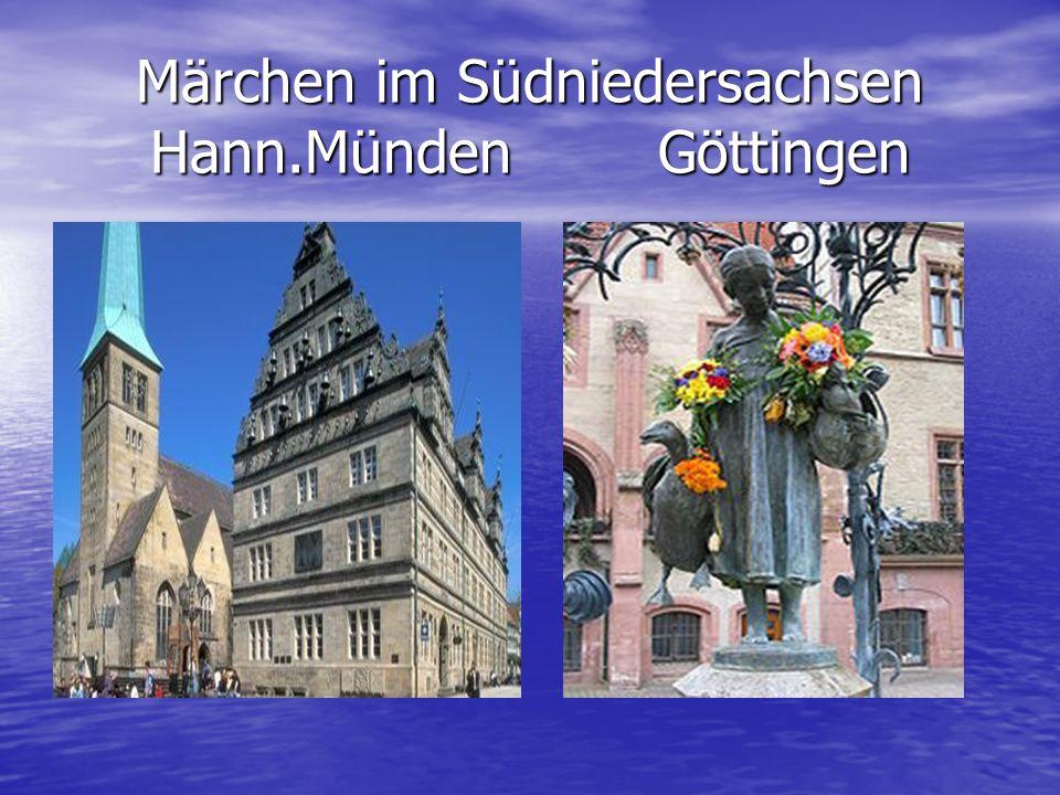 Göttingen (plattdeutsch: Chöttingen) ist eine traditionsreiche Universitätsstadt im Süden des Landes Niedersachsen.