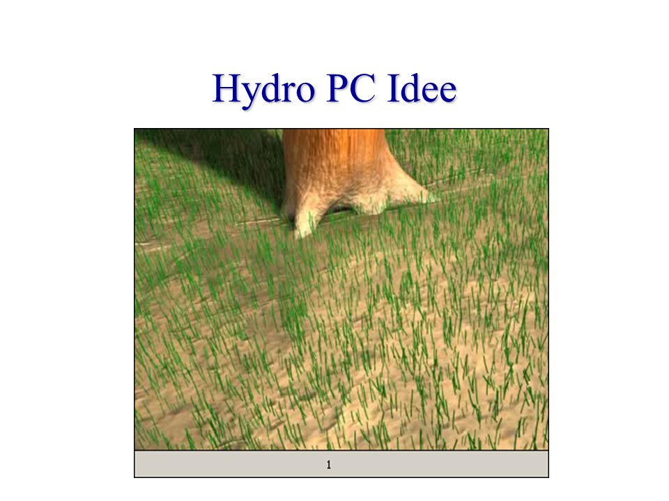 Hydro PC Funktion