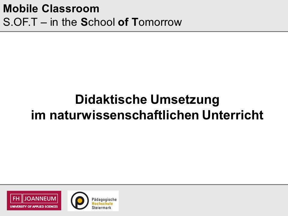 Mobile Classroom Lehrer/innen-Vortrag (15 Minuten)