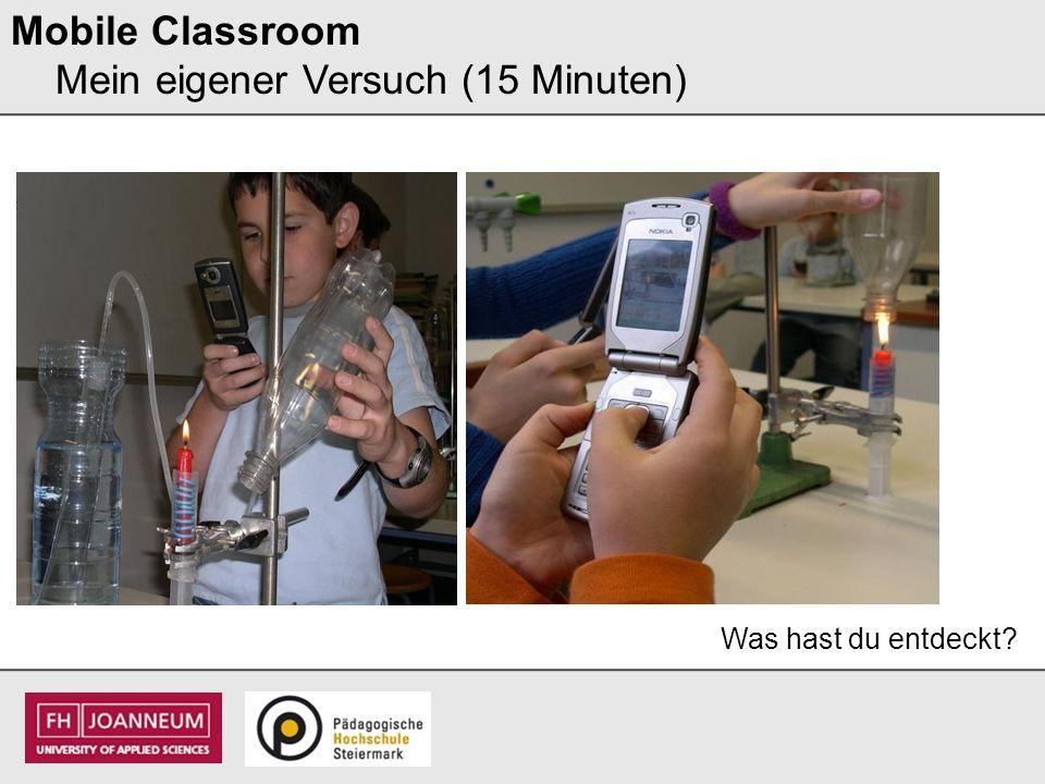 Mobile Classroom Mein persönliches Video (15 Minuten) I dit IT – Video