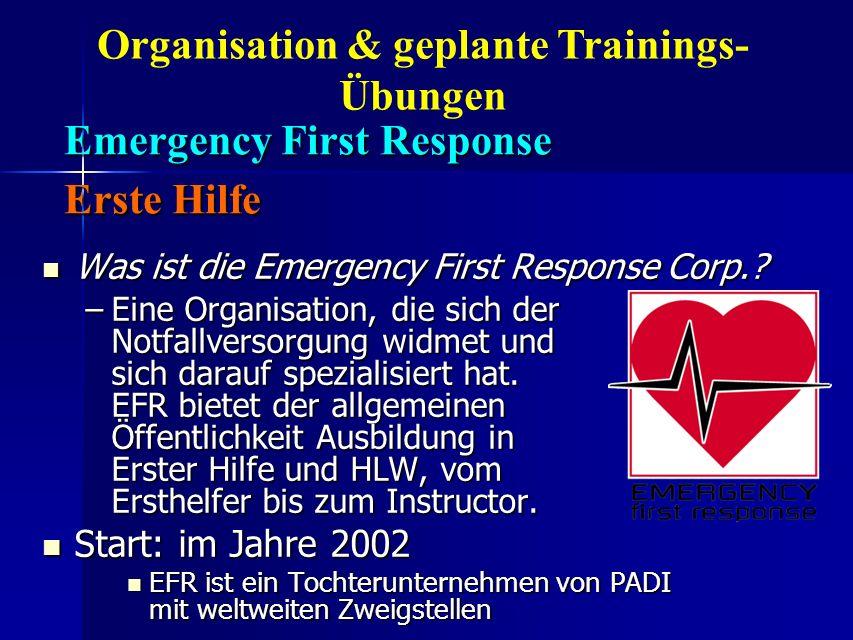 Emergency First Response Erste Hilfe Emergency First Response Erste Hilfe Was ist die Emergency First Response Corp.? Was ist die Emergency First Resp