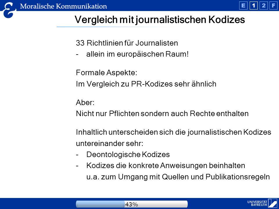 Umgang mit den Quellen Interessant, da Informationen zum Teil von PR-Praktikern als eine Quelle an die Medienvertreter weiter gegeben werden.