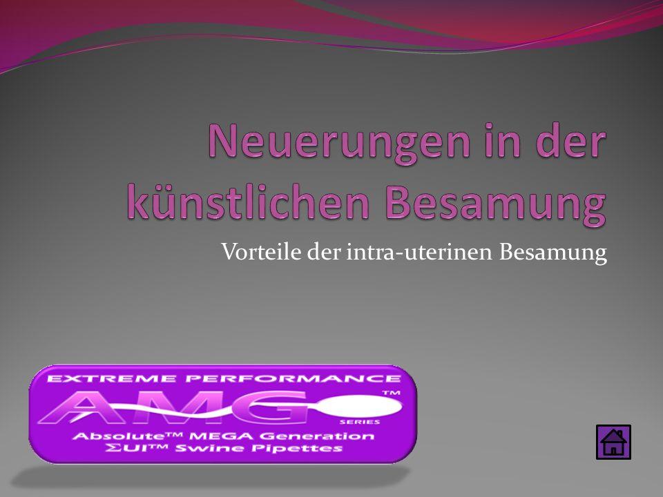 Vorteile der intra-uterinen Besamung