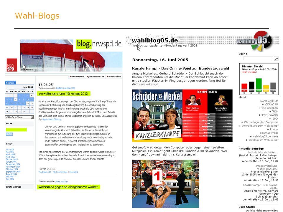 stefan keuchel 28. juli 2005, köln Wahl-Blogs