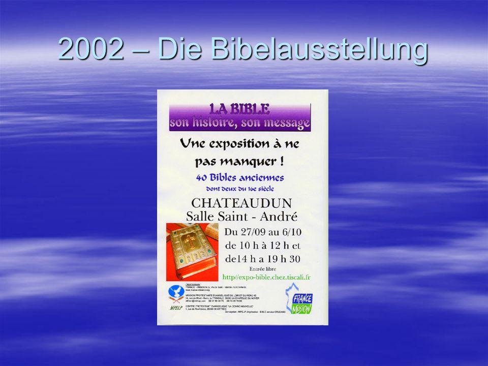Die Bibel in sechs Themen Seit Freitag Abend bis Sonntag wird die Bibel im Saal Saint - André ausgestellt.