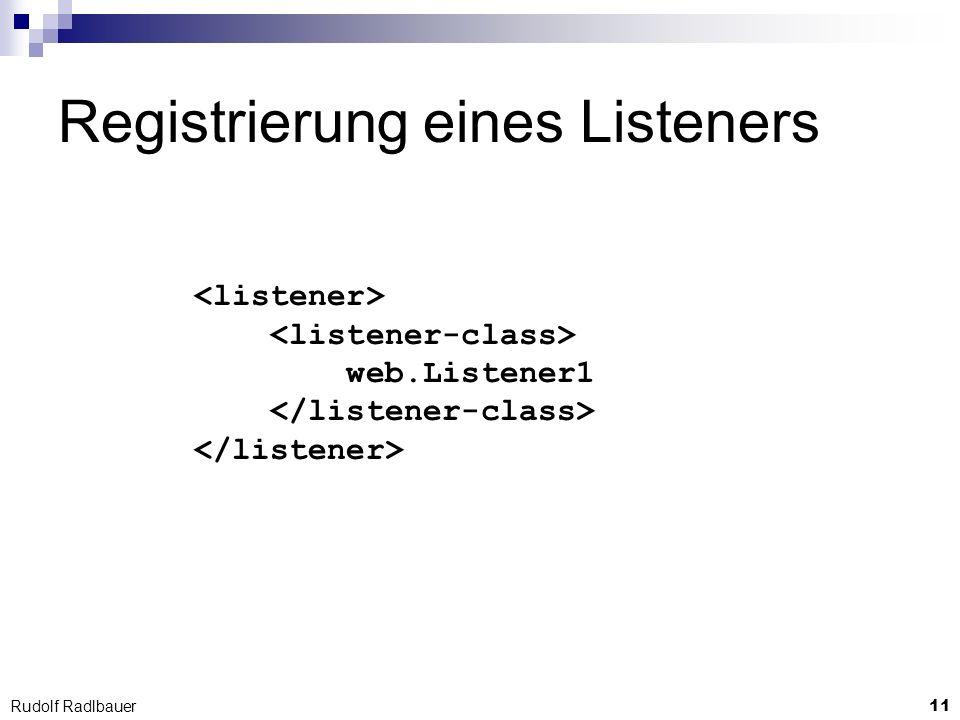 11 Rudolf Radlbauer Registrierung eines Listeners web.Listener1