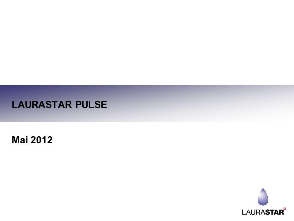 DATEN ZUR EINFÜHRUNG DES NEUEN LAURASTAR PULSE Am Lager: Ende August 2012 Offizielles Einführungsdatum: September 2012 12