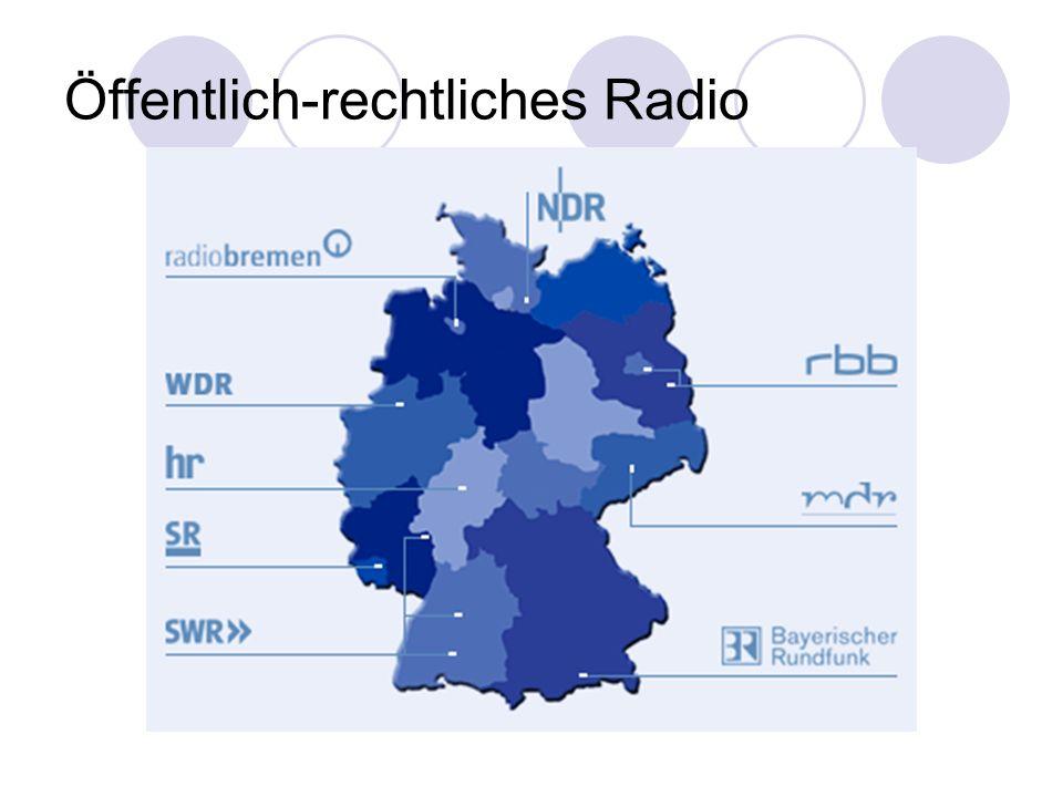 Öffentlich-rechtliches Radio