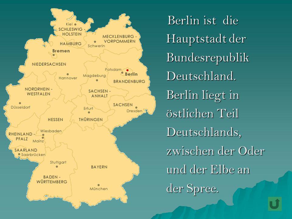 Sehr bekannt sind die deutsche Staatsoper.