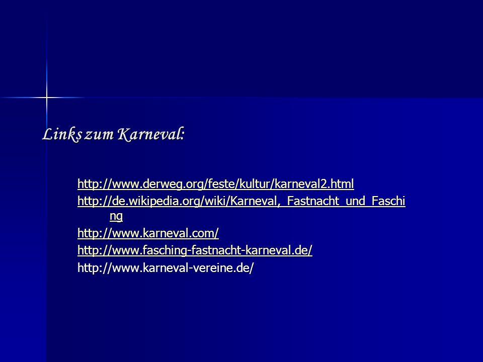 Links zum Advent und Weihnachten: http://www.derweg.org/feste/weihnachten/weihnachten.html http://www.weihnachtsmarkt-deutschland.de/ http://www.chris