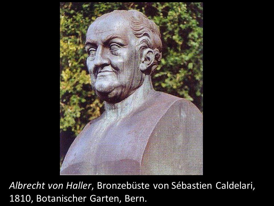 Albrecht von Haller auf der Fünfhundertfrankennote, Nationalbank.