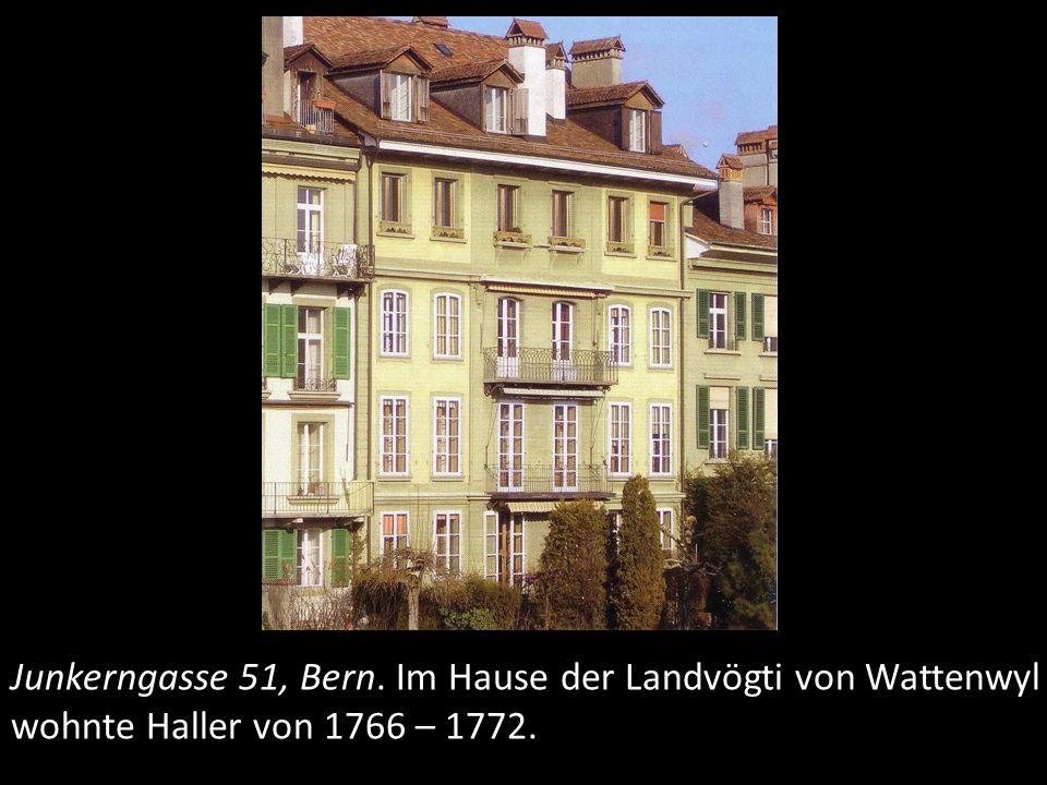 Inselgasse 5 (heute Bundeshaus Ost), Bern.