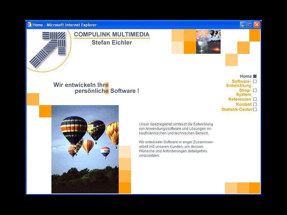 Datenbank-Inhalte z.B: Pflege von Terminen, Veranstaltungen usw.
