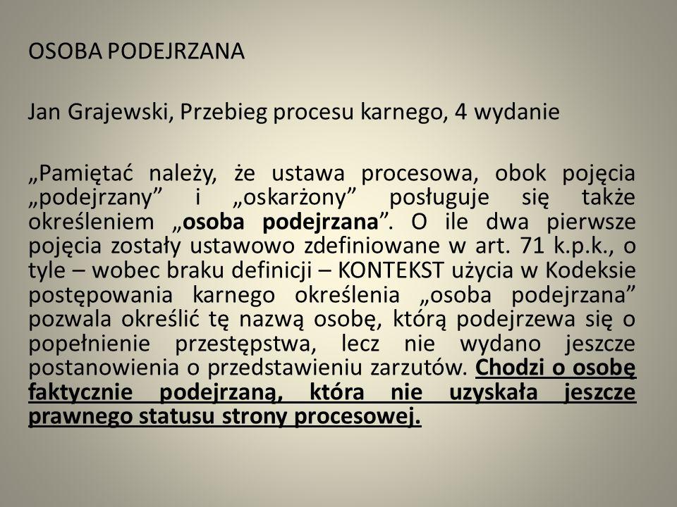 Art.71 k. p. k § 1.