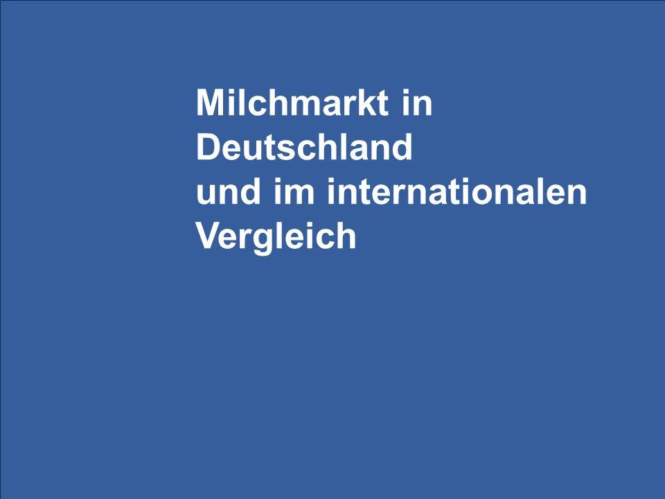 Lage am Milchmarkt 12 EU: Anteil der Ex- und Importe abgenommen, Binnenmarkt immer wichtiger