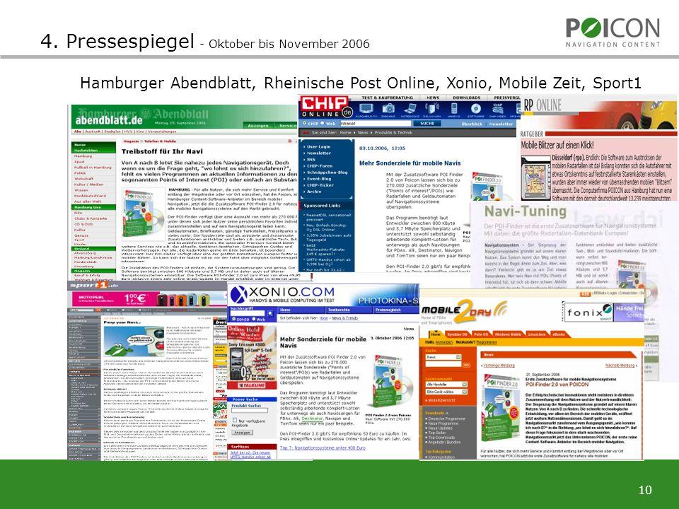 10 Hamburger Abendblatt, Rheinische Post Online, Xonio, Mobile Zeit, Sport1 4.