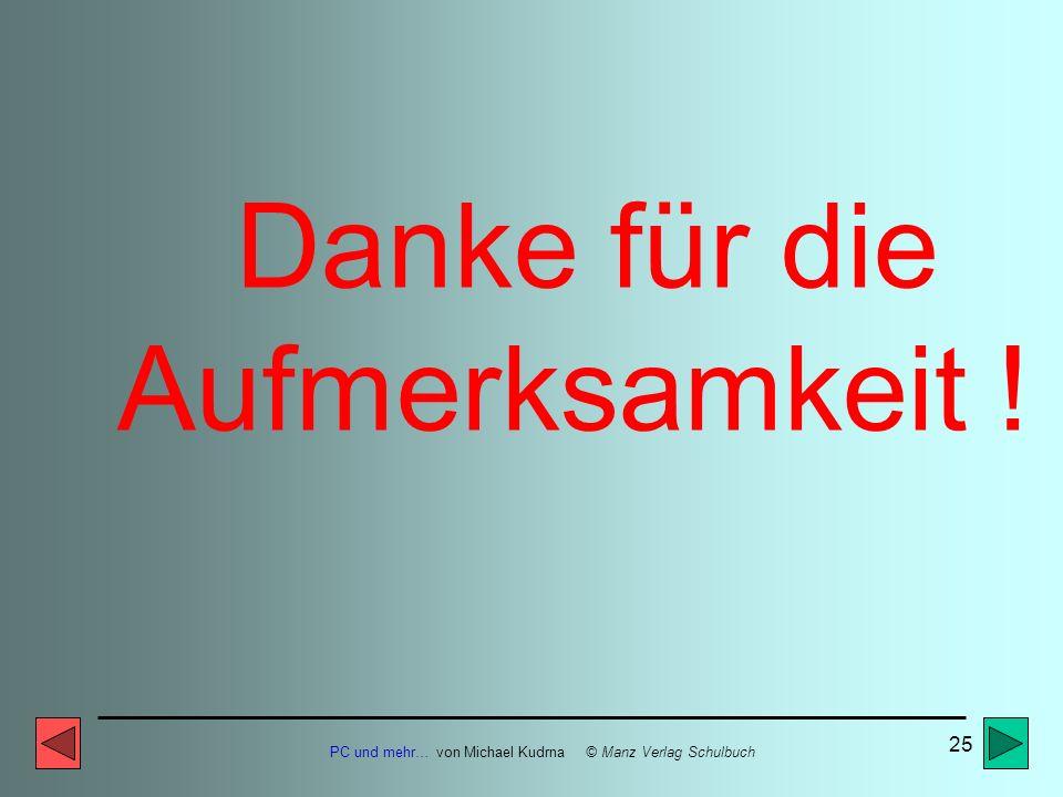 PC und mehr… von Michael Kudrna © Manz Verlag Schulbuch 24 Web-Browser für das Surfen im Internet: z.B. Netscape/Mozilla, MS Internet Explorer oder Op