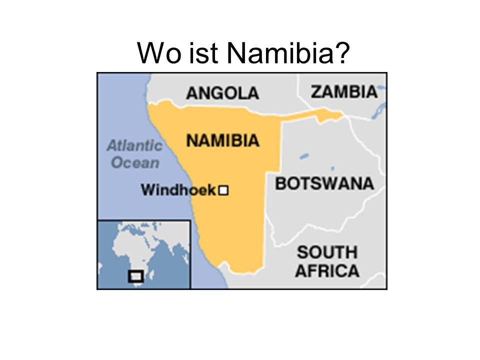 Wo ist Namibia?