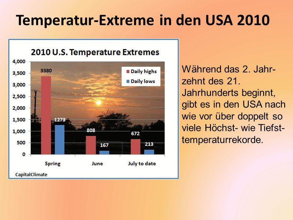 Verlängerung der Vegetationszeit Als Vegetationszeit wird die Anzahl von Tagen zwischen dem letzten Frost im Frühjahr und dem ersten Frost im Herbst bezeichnet.
