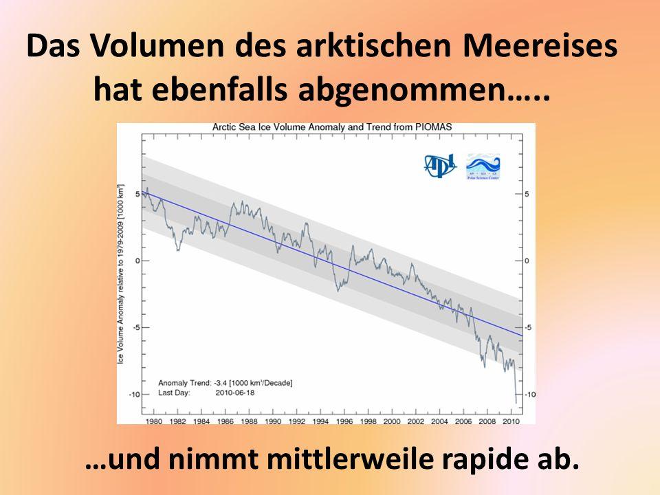 Veränderungen in der Eismasse Grönlands (John Wahr).