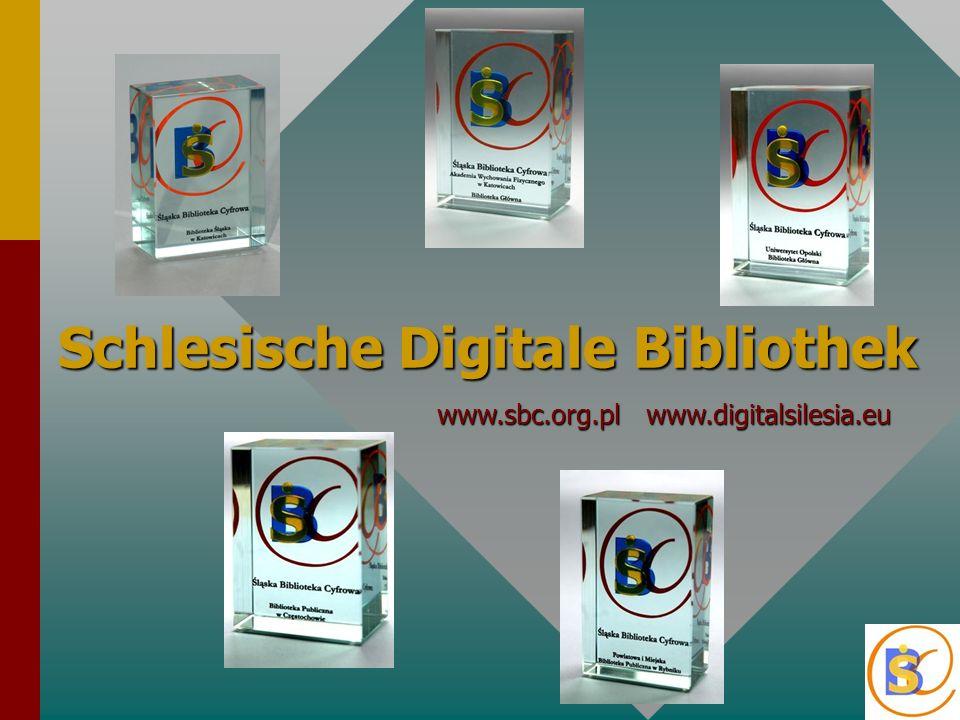 ŚBC ist eine digitale Plattform auf der Grundlage der Software dLibra.