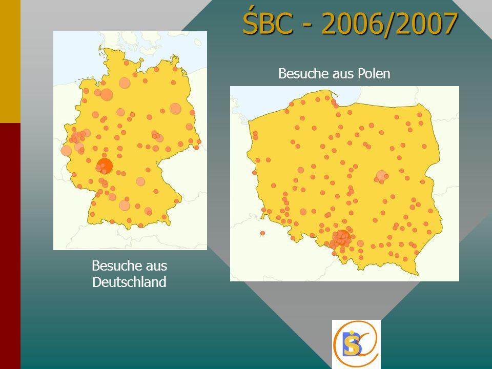 ŚBC - 2006/2007 Besuche aus Deutschland Besuche aus Polen