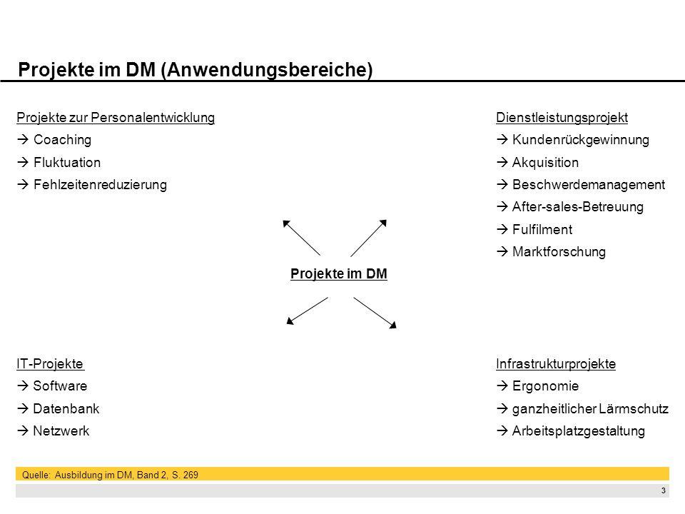 2 Projektdefinition Projekt ist aus der lateinischen Sprache abgeleitet Bedeutung: Entwurf | Plan | Vorhaben Definition nach DIN 69901: Ein Projekt is