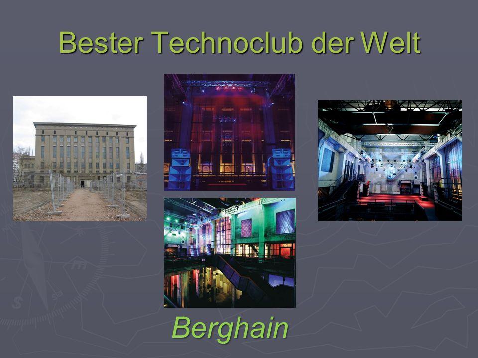 Bester Technoclub der Welt Berghain