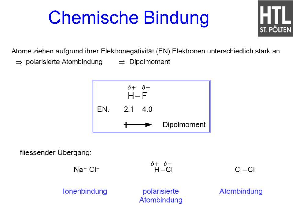 Chemische Bindung