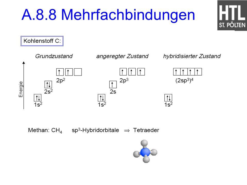 A.8.8 Mehrfachbindungen