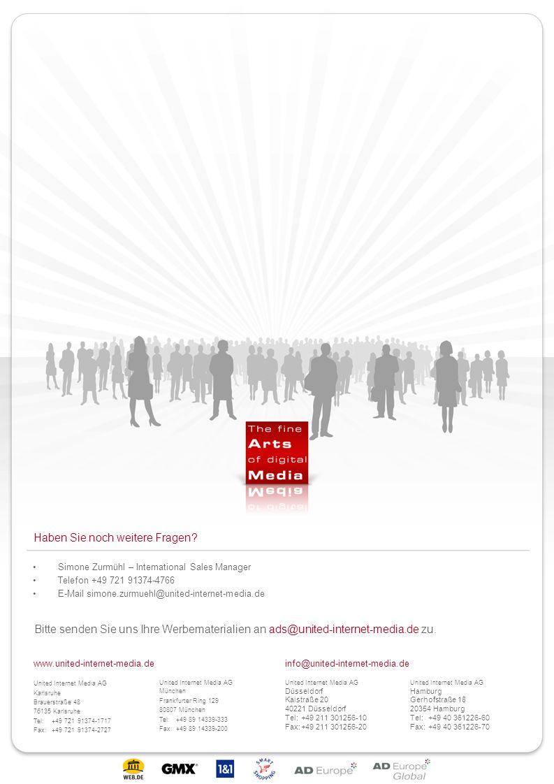 www.united-internet-media.deinfo@united-internet-media.de United Internet Media AG Karlsruhe Brauerstraße 48 76135 Karlsruhe Tel:+49 721 91374-1717 Fa