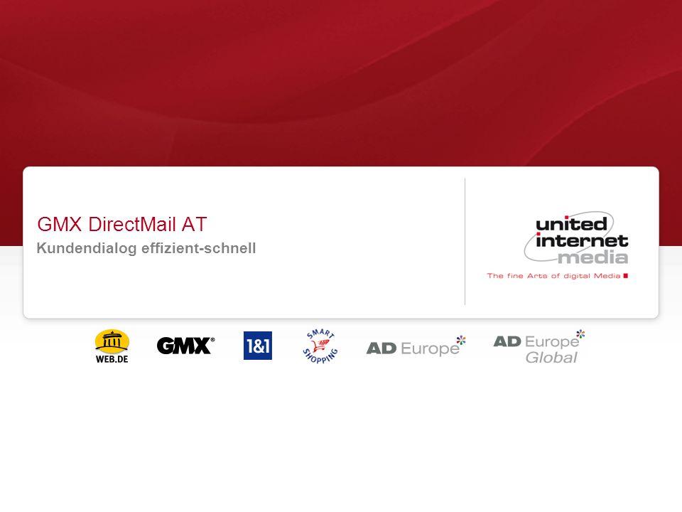 GMX DirectMail AT Kundendialog effizient-schnell