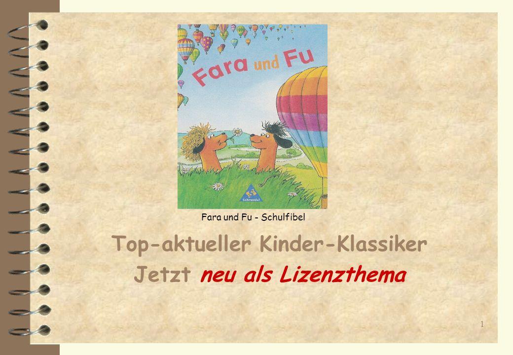 11 Erfolgsstrategie Basierend auf den langjährigen Erfolges von Fara + Fu hat der Schroedel-Verlag dieses Verlagsprogramm auf mindestens drei weitere Grundschulgenerationen je 4 Jahre, d.h.