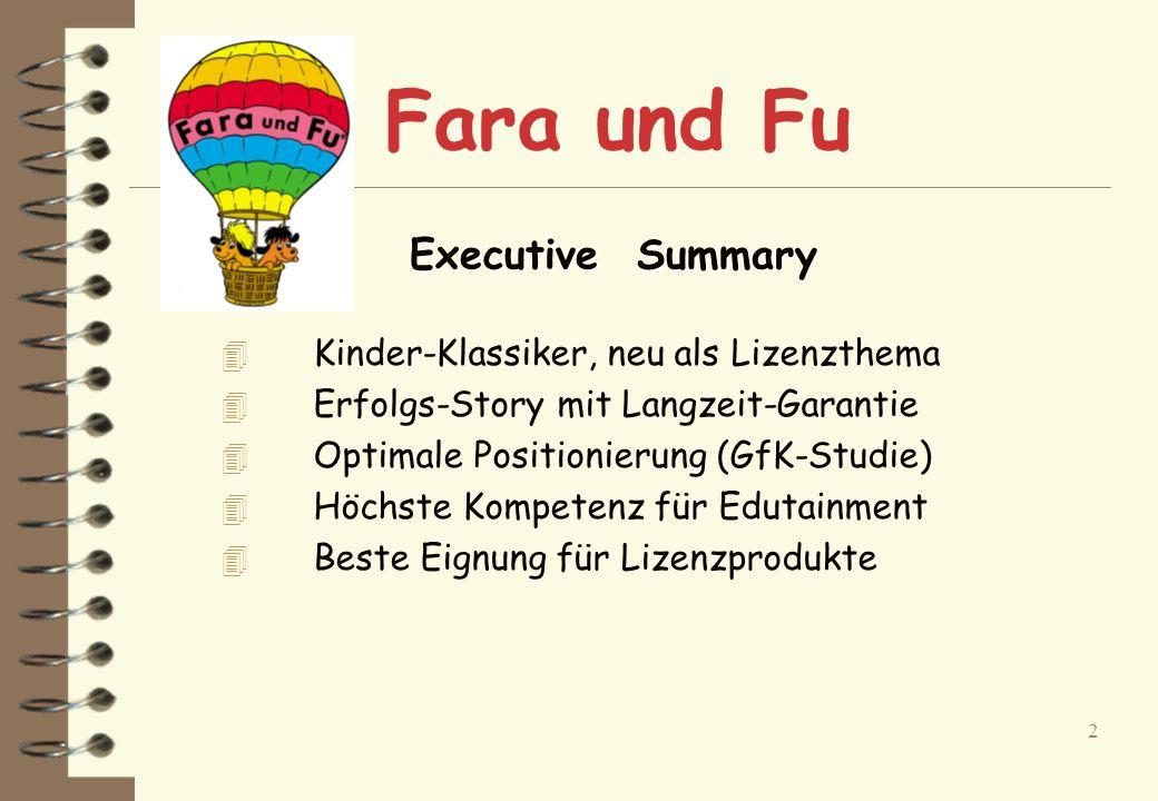 1 Top-aktueller Kinder-Klassiker Jetzt neu als Lizenzthema Fara und Fu - Schulfibel