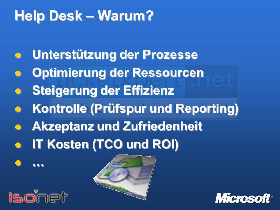 TicketXPert.NET - Security Q: Hatte RUAG bei der Evaluation einer Help Desk Lösung Anforderungen an die Sicherheit.