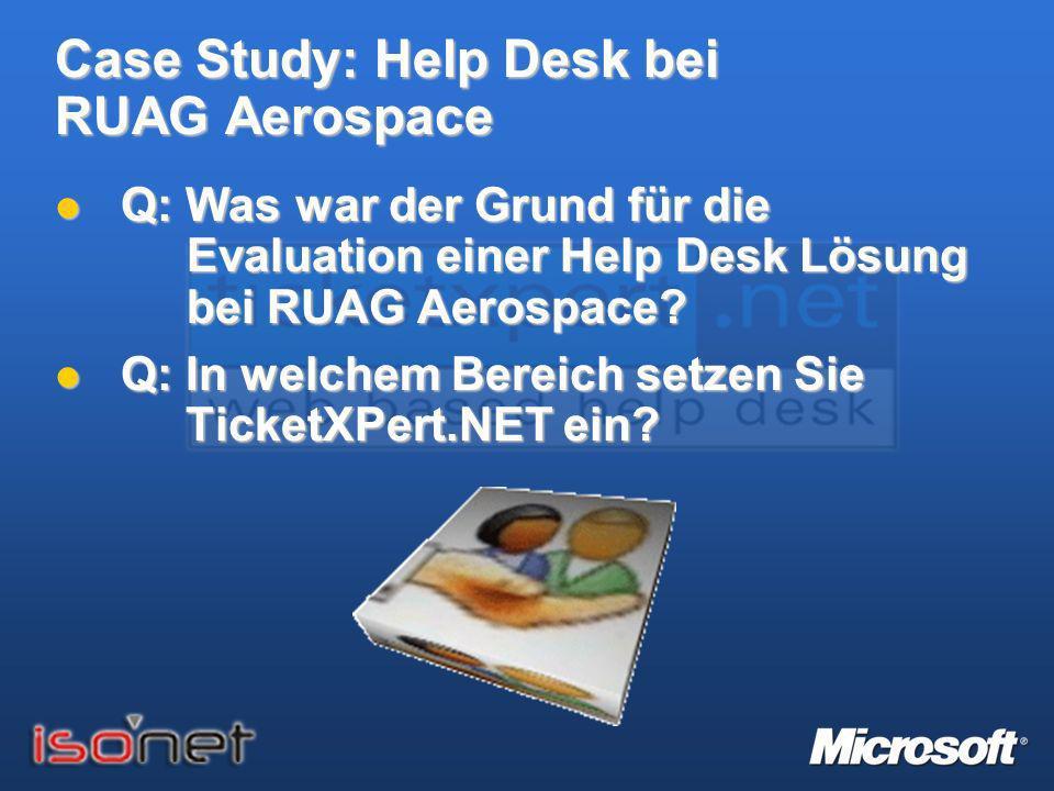 TicketXPert.NET – > Help Desk fertig und los... Help Desk fertig und los...