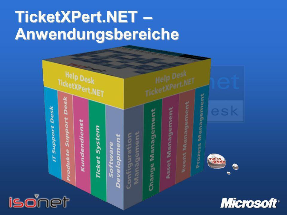 TicketXPert.NET - Module Q: Welche Module waren bei der Evaluation für den Service Desk erforderlich.