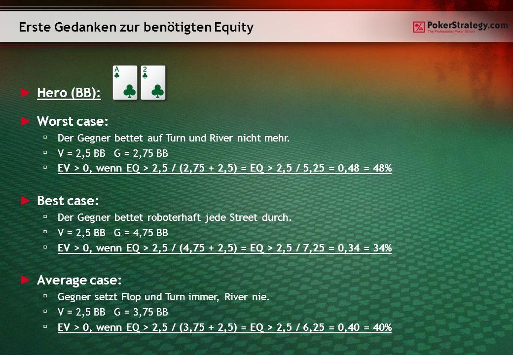 Hero (BB): Bisher vernachlässigte Punkte: Du spielst keinen stumpfen Calldown.